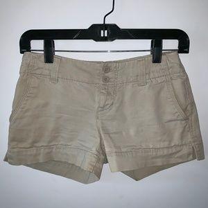 Tan Shorts - Size 1 (EUC)